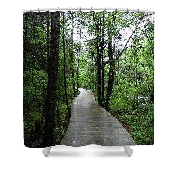 Wang Lang Nature Reserve, China Shower Curtain
