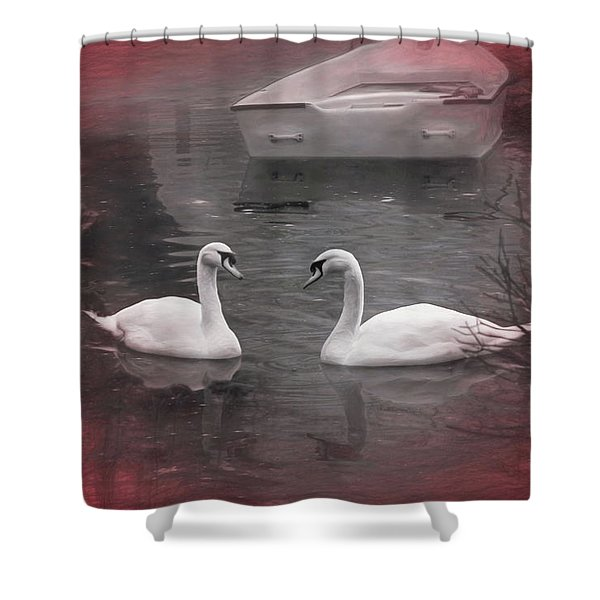 Wanna Go For A Boat Ride ? Shower Curtain