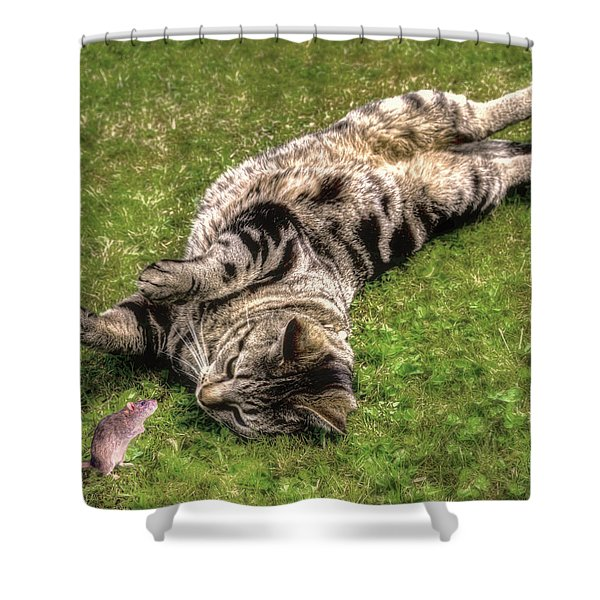 Want To Play Shower Curtain