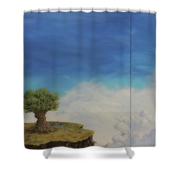 War And Peace Shower Curtain