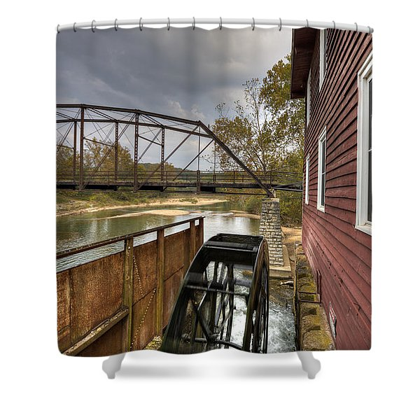 War Eagle Mill Shower Curtain