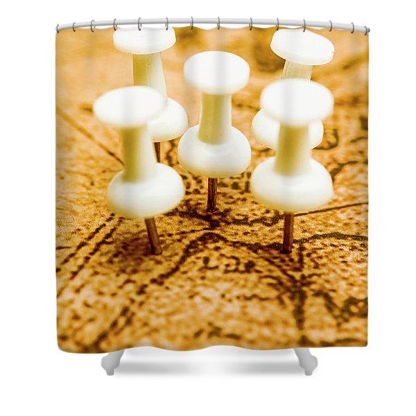 War Game Tactics Shower Curtain