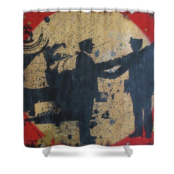 War Mongers Shower Curtain