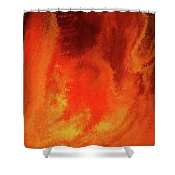 Warm  Shower Curtain