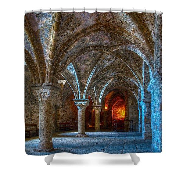 Warm Glow Shower Curtain