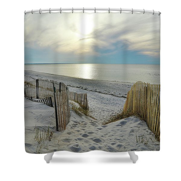 Warm Welcome Shower Curtain