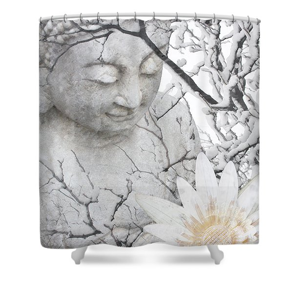Warm Winter's Moment Shower Curtain