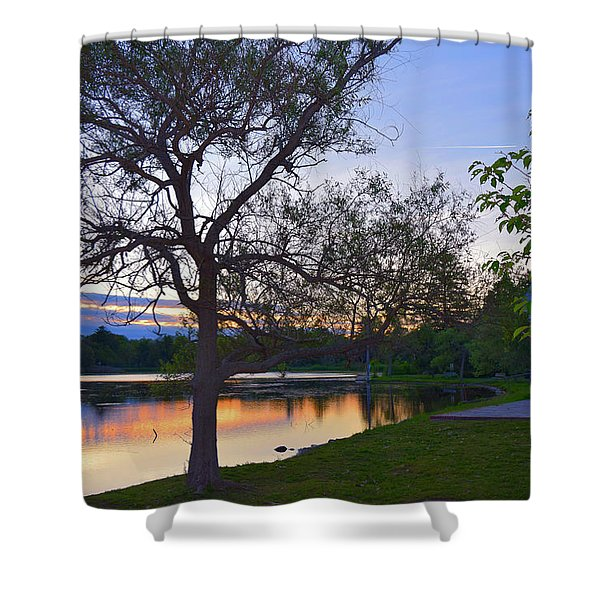 Warming House Shower Curtain
