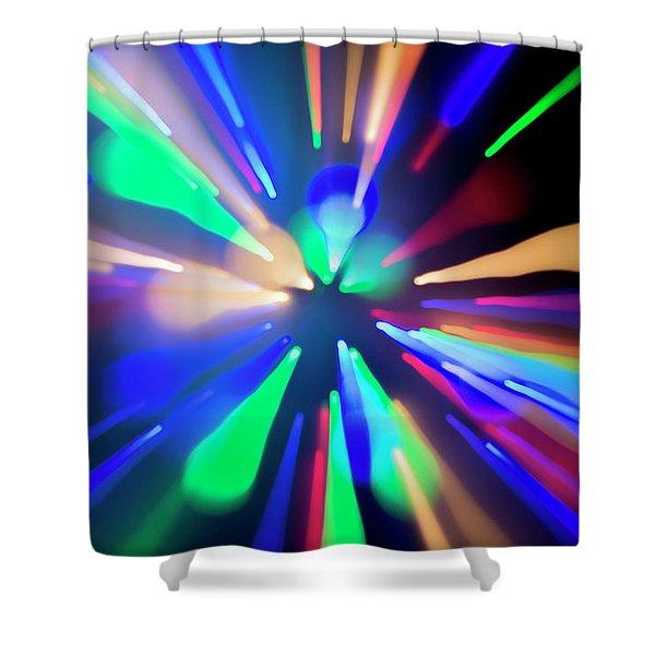 Warp Factor 1 Shower Curtain