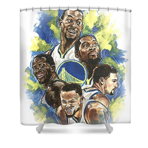 Warriors Shower Curtain
