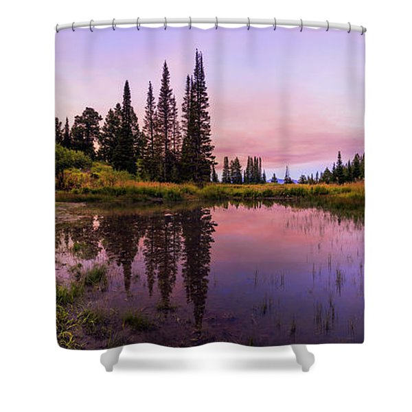 Wasatch Back Shower Curtain