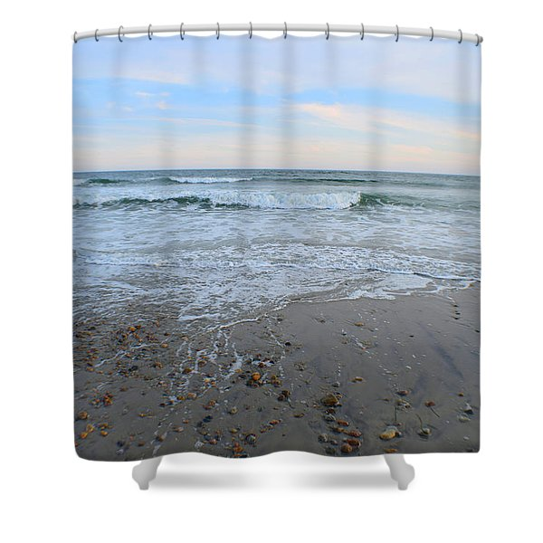 Wash Away The Day Shower Curtain