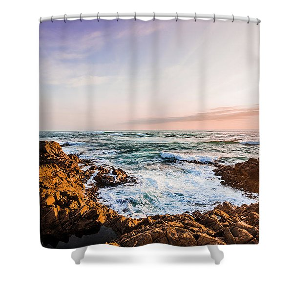 Wash Of Pastel Seas Shower Curtain