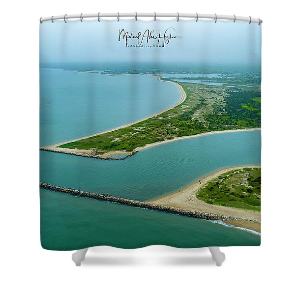 Washburns Island Shower Curtain