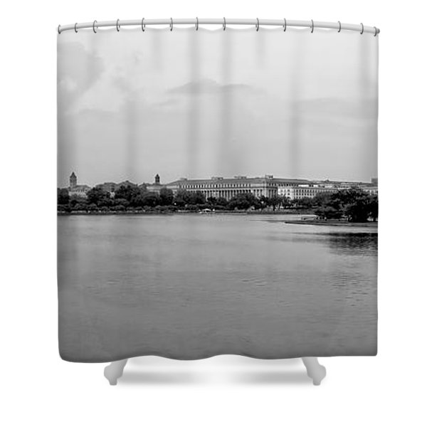 Washington Landmarks Shower Curtain