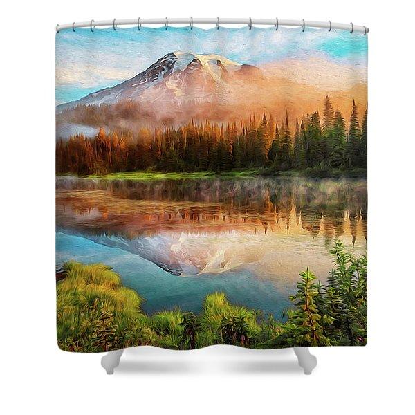 Washington, Mt Rainier National Park - 04 Shower Curtain