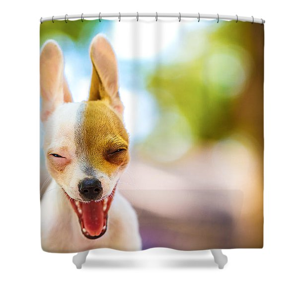 Wassup? Shower Curtain