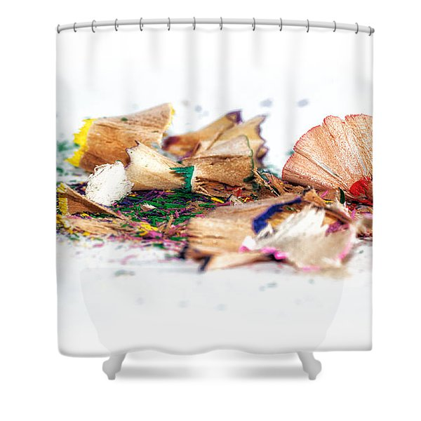 Waste Of Pencils Shower Curtain