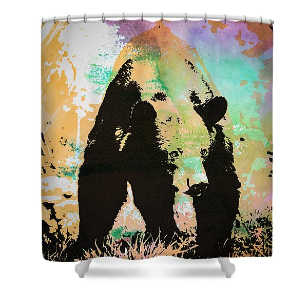 Watch Out Wc-1 Shower Curtain