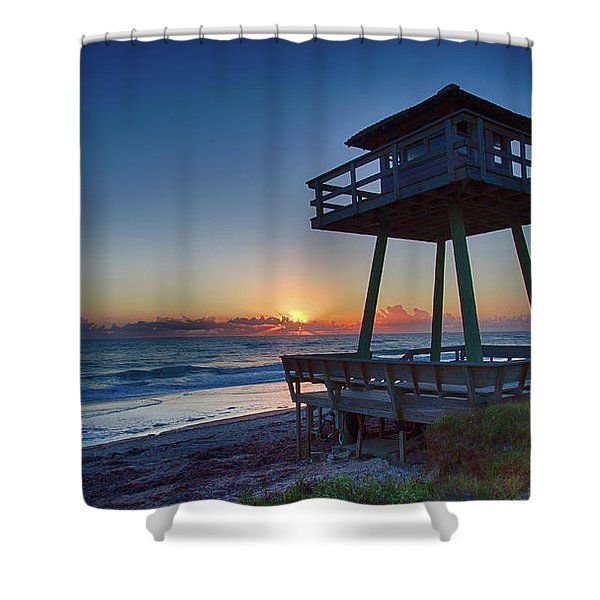 Watch Tower Sunrise 2 Shower Curtain
