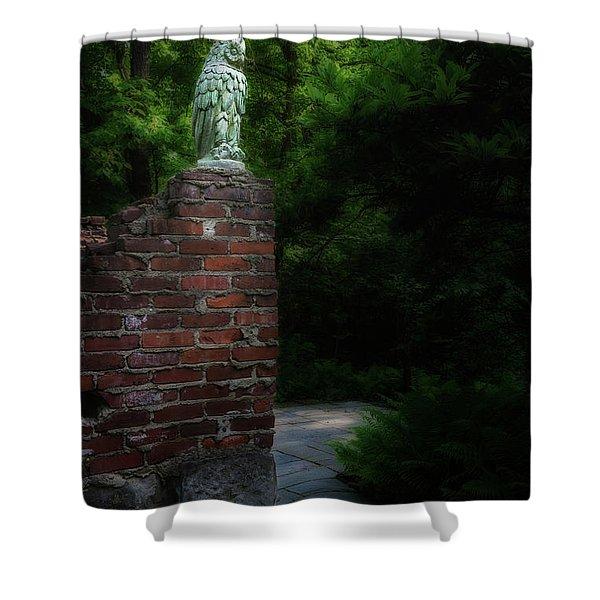 Watcher Shower Curtain