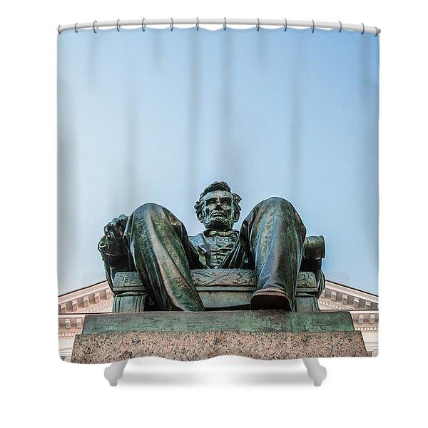 Watchful Abe Shower Curtain
