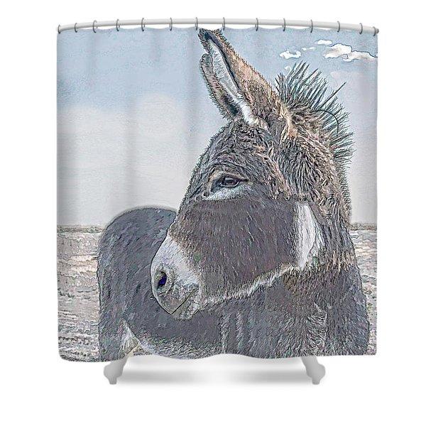 Watchful Gaze Shower Curtain