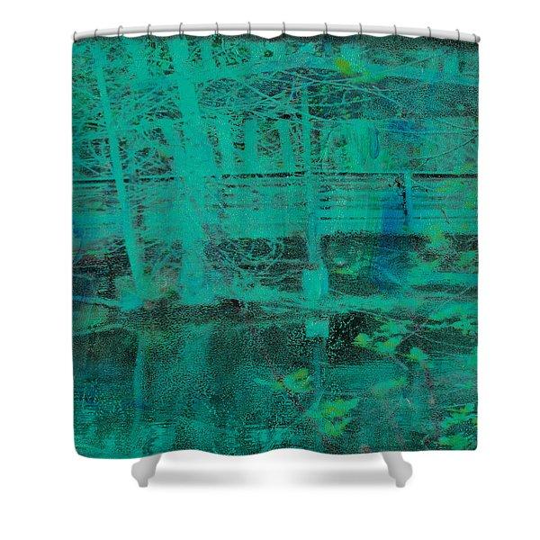 Water #10 Shower Curtain