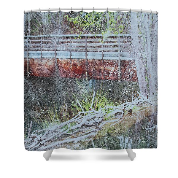 Water #5 Shower Curtain