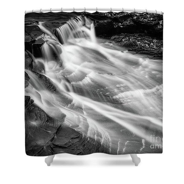 Water Falls Shower Curtain