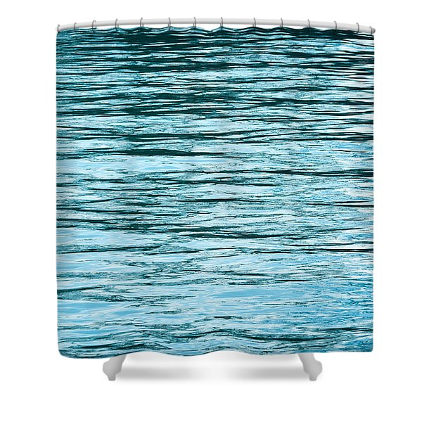 Water Flow Shower Curtain