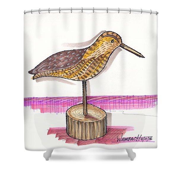 Water Fowl Motif #6 Shower Curtain