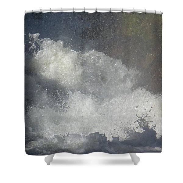 Water Fury 2 Shower Curtain
