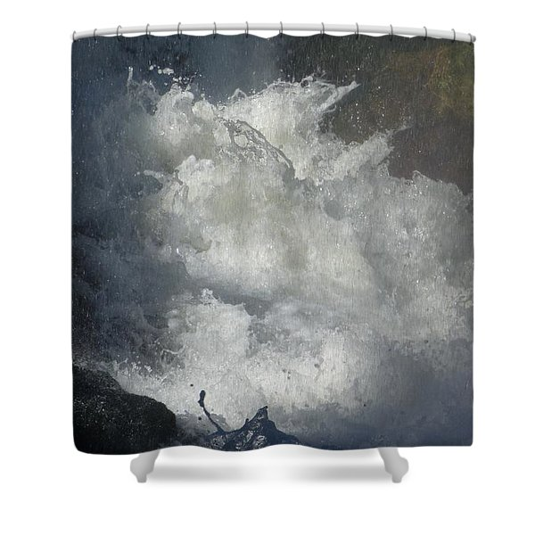 Water Fury 3 Shower Curtain