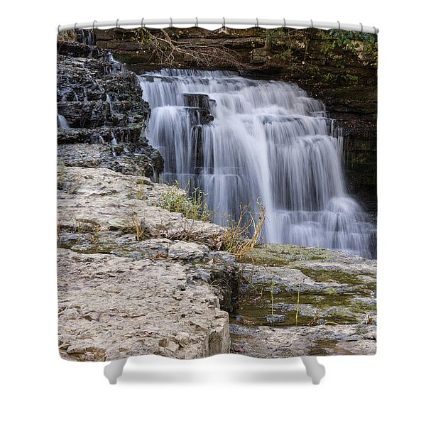 Water In Motion Shower Curtain