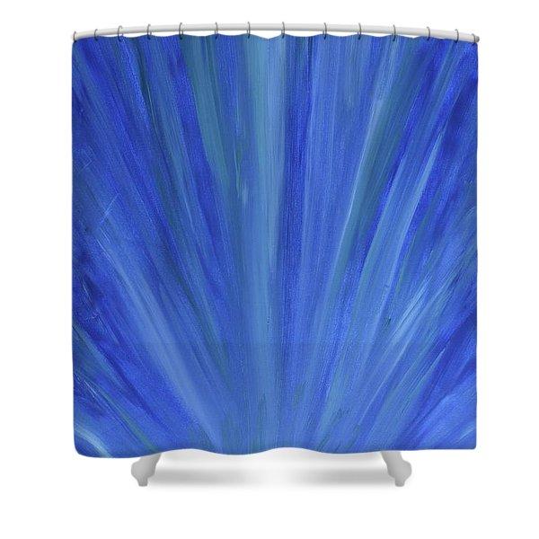 Water Light Shower Curtain