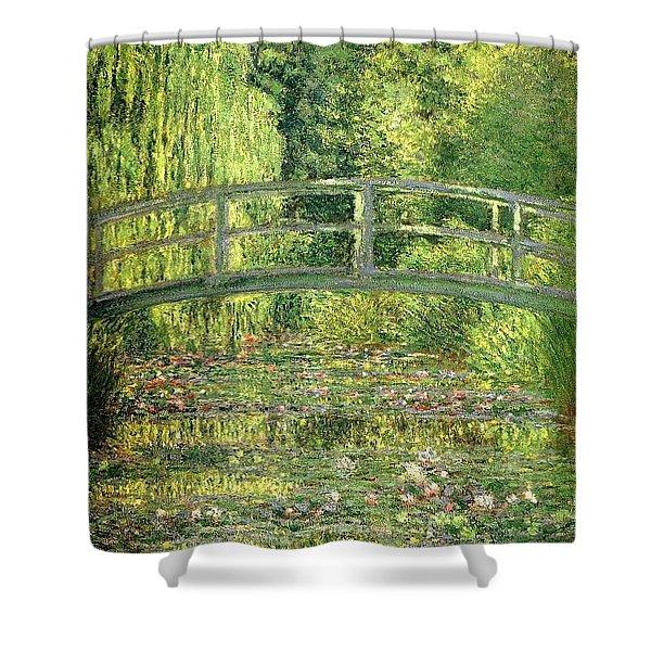 Water Lilies Claude Oscar Monet Shower Curtain