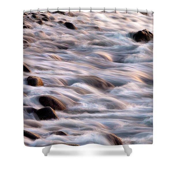 Water Movement Shower Curtain