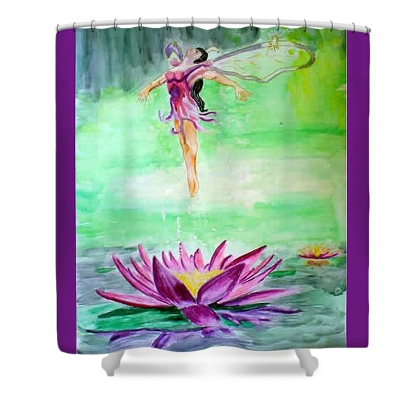 Water Nymph Shower Curtain
