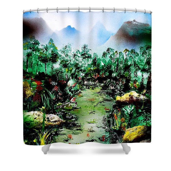 Water Of Life Shower Curtain