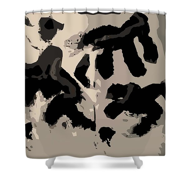 Water Protectors Shower Curtain