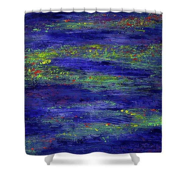 Water Serenity Shower Curtain
