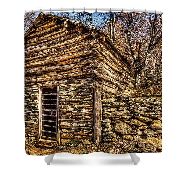 Water Shed Shower Curtain