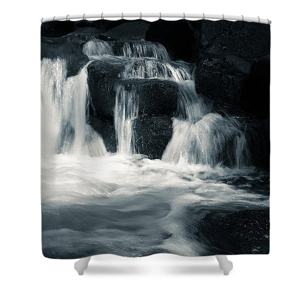 Water Stair Shower Curtain