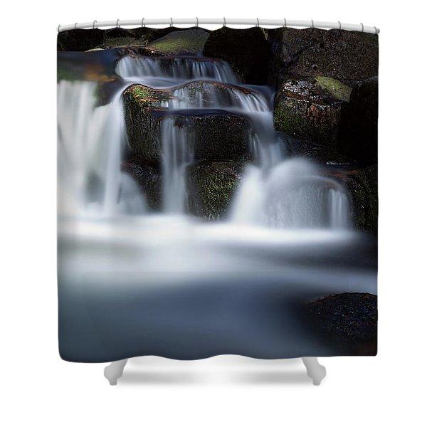 Water Stair - Long Exposure Version Shower Curtain