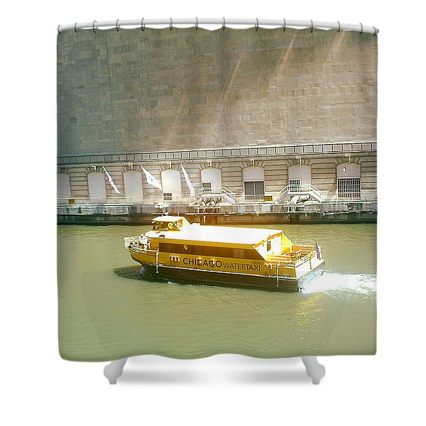 Water Texi Shower Curtain