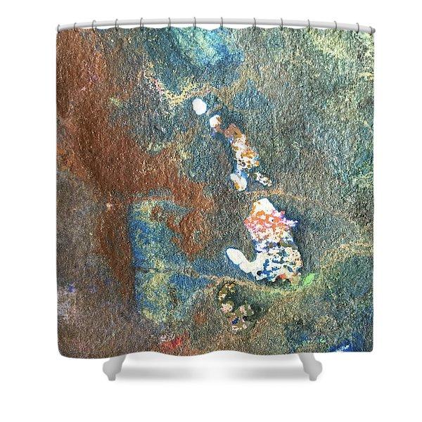 Waterburst Shower Curtain