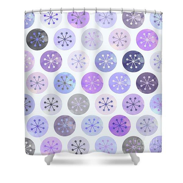 Watercolor Lovely Pattern II Shower Curtain