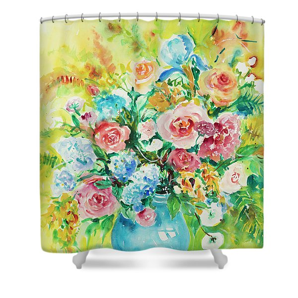 Watercolor Series 120 Shower Curtain