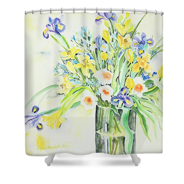 Watercolor Series 143 Shower Curtain